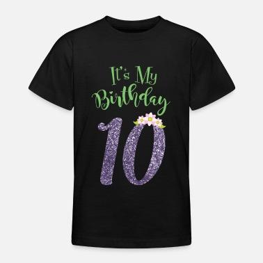 suchbegriff 39 zehnter geburtstag 39 t shirts online bestellen spreadshirt. Black Bedroom Furniture Sets. Home Design Ideas