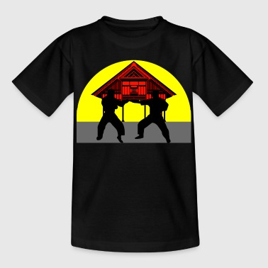 temple combat - Teenager T-Shirt