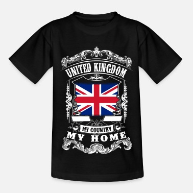 Union Jack United Kingdom - My country - My home - Teenage T-Shirt