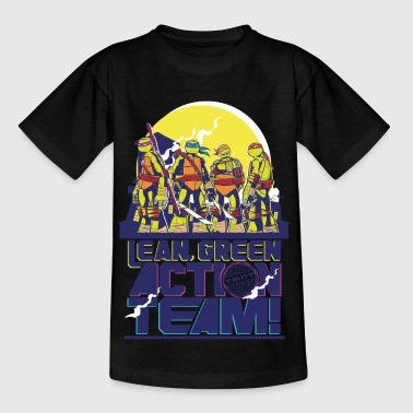 TMNT Turtles Lean Green Action Team - Teenager-T-shirt