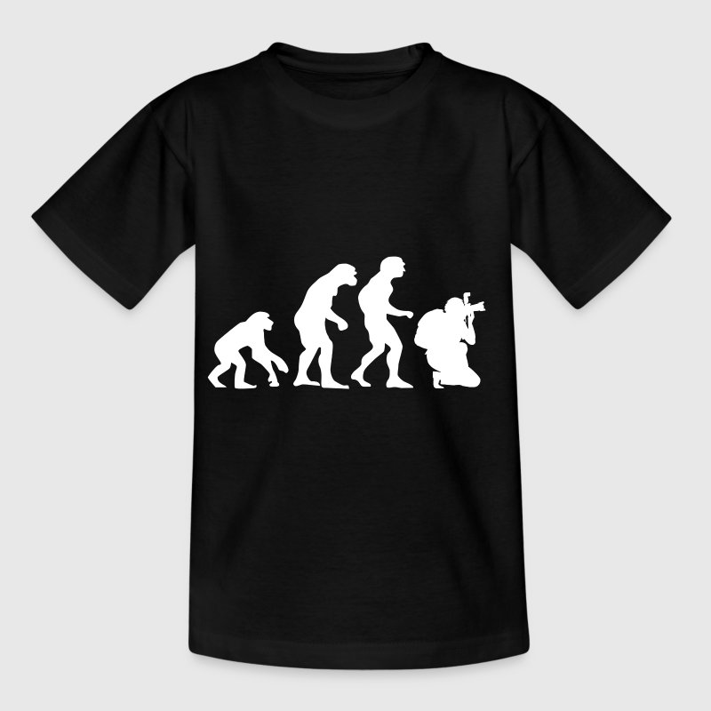 The evolution of photography - Teenage T-shirt