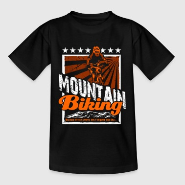Bike Mountain bike - Teenage T-Shirt