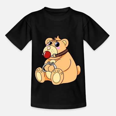 Bondage BDSM teddybeer - Teenager T-shirt