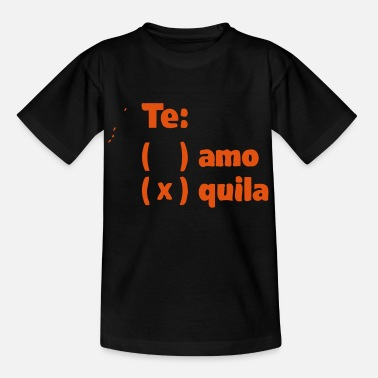 Te-shirt TE AMO TEQUILA Long Sleeve Shirts - Teenage T-Shirt