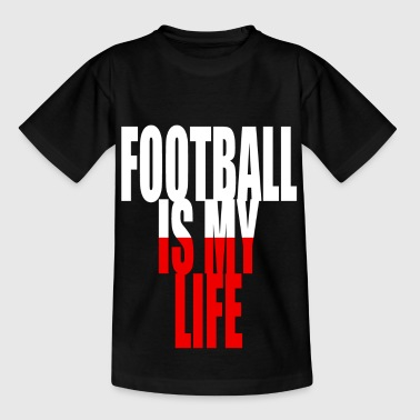 football is my life pologne - T-shirt Ado