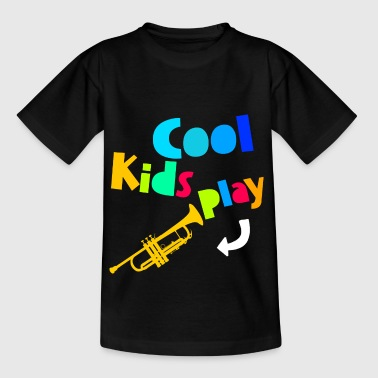 Cool Kids Play Trumpet - Teenager T-Shirt