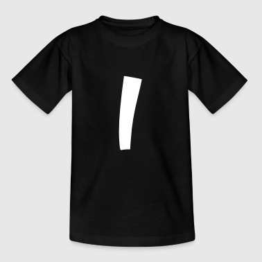 Vertikal Strich Strich T-Shirt - Teenager T-Shirt