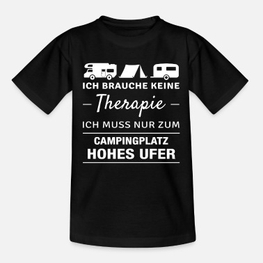 Ufer Therapie Hohes Ufer - Teenager T-Shirt