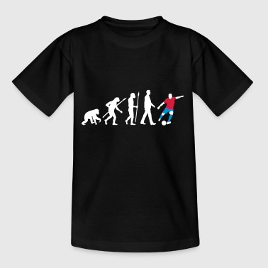 evolution_fussballer_122012_a_3c - Teenager T-Shirt