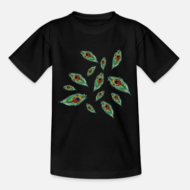 Plumage Peacock plumage - Teenage T-Shirt