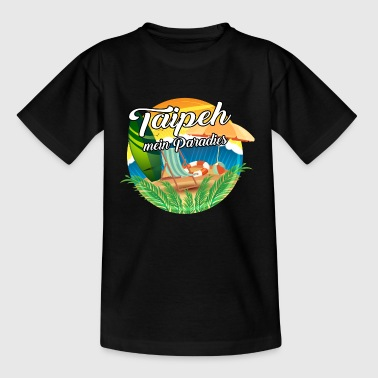 Taipeh - mein Paradies - Teenager T-Shirt