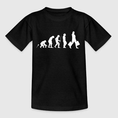 Shoppen Evolution Fun Shirt - Teenager T-Shirt