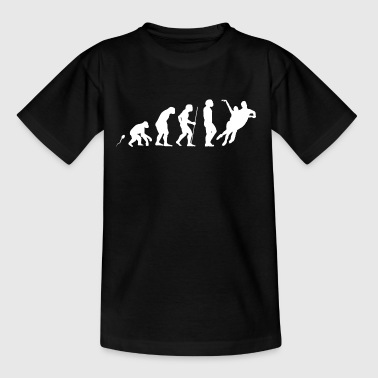 Eiskunstlauf Paar Evolution witziges Fun Shirt - Teenager T-Shirt