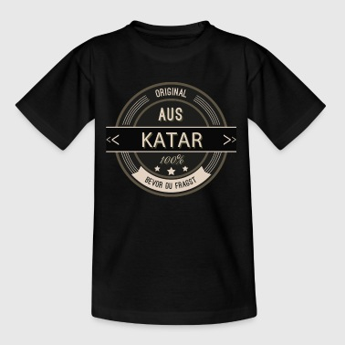 Original aus Katar 100% - Teenager T-Shirt