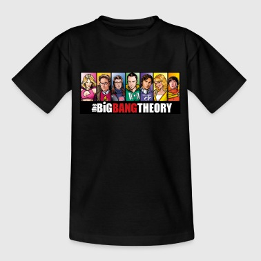 Coole The Big Bang Theory Comic Teenager T-Shirt - Teenager T-Shirt