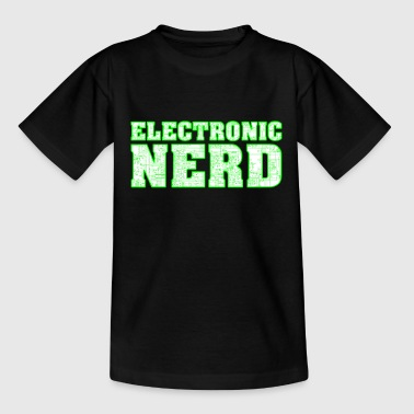 Wiring Diagram Electronics nerd, gift eg birthday, technique - Teenage T-Shirt