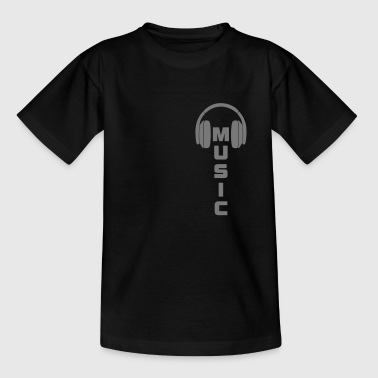 Music DJ Dubstep T-shirt - Teenager T-shirt