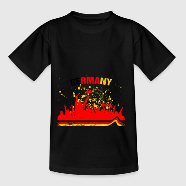 Germany Fan Fan Shirt Soccer - Teenage T-Shirt