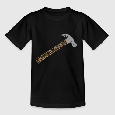 Fire Drill Hammer joiner carpenter tool workshop nail - Teenage T-Shirt