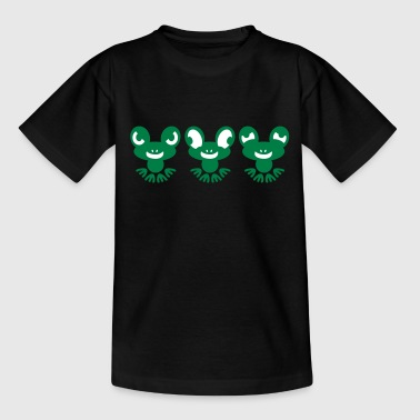crazy frogs - Teenager T-Shirt