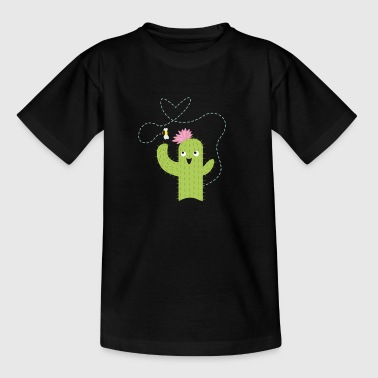 Cactus en bee - Teenager T-shirt