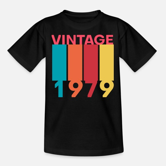 Vintage T-Shirts - 1979 - Teenage T-Shirt black