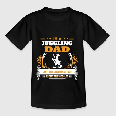 Jonglieren Dad Shirt Geschenkidee - Teenager T-Shirt