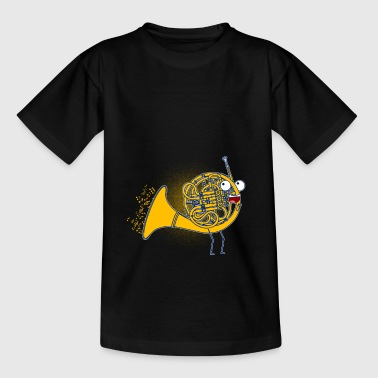 French horn / musical instrument / gift - Teenage T-Shirt