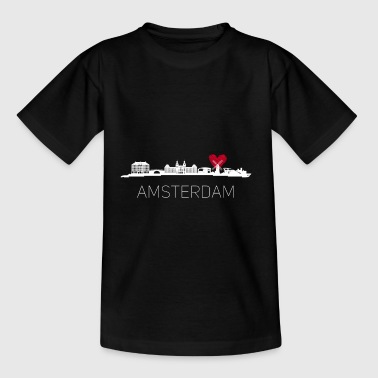 amsterdam Niederlande Holland grachten Trip Reise - Teenager T-Shirt