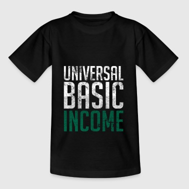 Universal Basic Income - T-skjorte for tenåringer