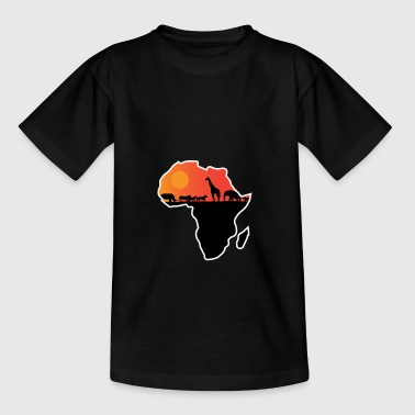 Afrikaans safarigift voor Wildlife Lovers - Teenager T-shirt