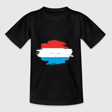 Luxembourg home flag love origin Luxembourg png - Teenage T-Shirt