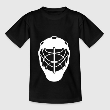 Hockey hockey gift hockey mask hockey games - Teenage T-Shirt