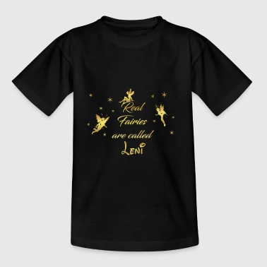 fee fairies fairy vorname name Leni - Teenager T-Shirt