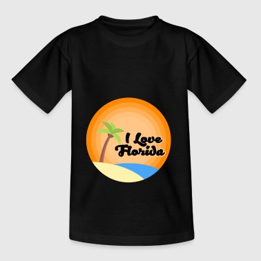 Love Florida I LOVE FLORIDA - Teenage T-Shirt