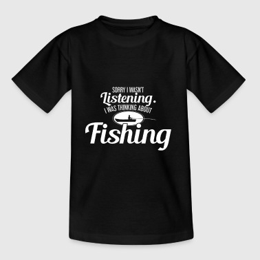 FISHING - FISHING - HOBBY - FISHING - FISHING - Teenage T-Shirt