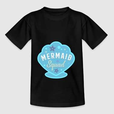 Mermaid Squad Birthday Party Gift - T-skjorte for tenåringer