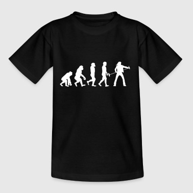 Sang Sang - Sanger - Evolution - Gave - Teenager-T-shirt