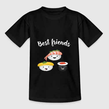 Japanimation emoji sushi best friends manga japanimation comic - Teenage T-Shirt