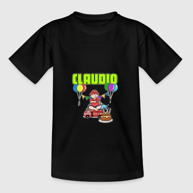 Brandmænd Claudio gave - Teenager-T-shirt