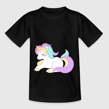 Ponies unicorn - pony - Teenage T-Shirt