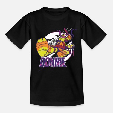 TMNT Turtles Donnie With Bo Staff - Camiseta adolescente