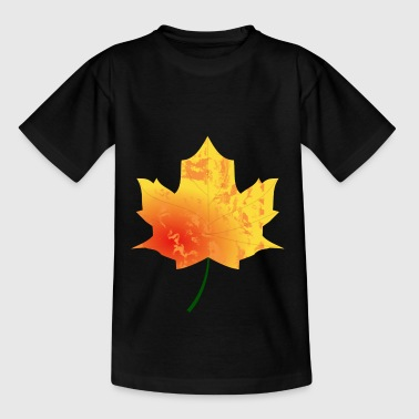 Maple leaf - autumn maple - Teenage T-Shirt