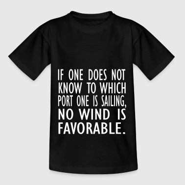 no wind is fav - Teenage T-Shirt