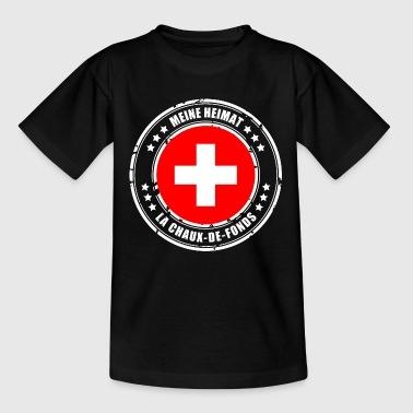 MEINE HEIMAT LA CHAUX-DE-FONDS - Teenager T-Shirt