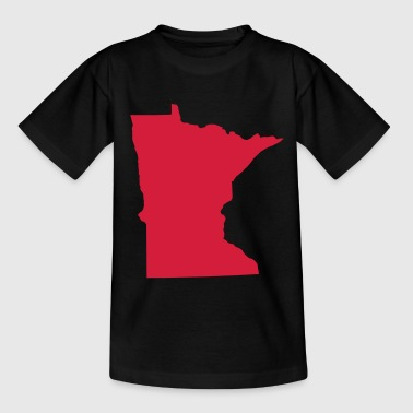 minnesota usa - Teenage T-Shirt