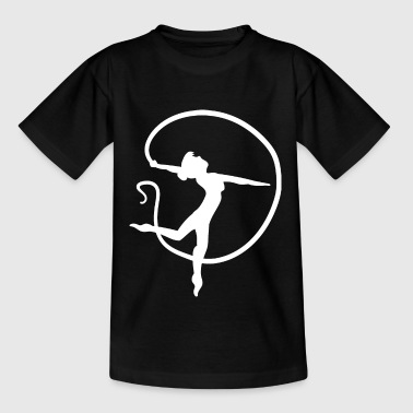 Turnen Turnen Acrobatiek Turnen Sport - Teenager T-shirt