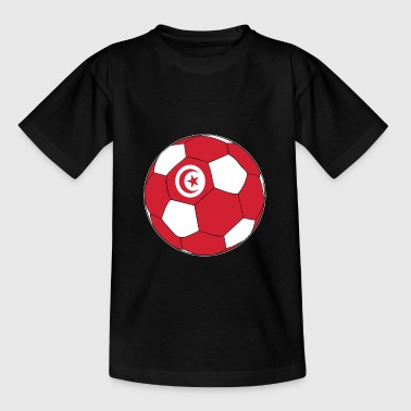 Coupe du Monde de Football de Tunisie - T-shirt Ado