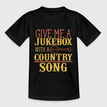 Guitars Cadillacs & Hillbilly Music - Teenager T-Shirt