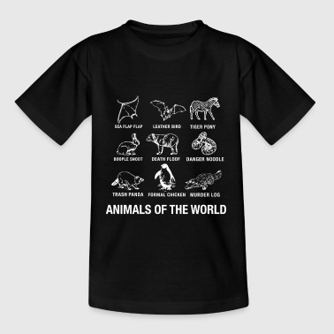 dieren - Teenager T-shirt